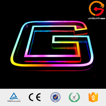 China supplier portable acrylic led fluorescent neon lighting letter sign