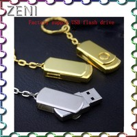 High quality USB 2.0 cable oem gold bar usb flash drive