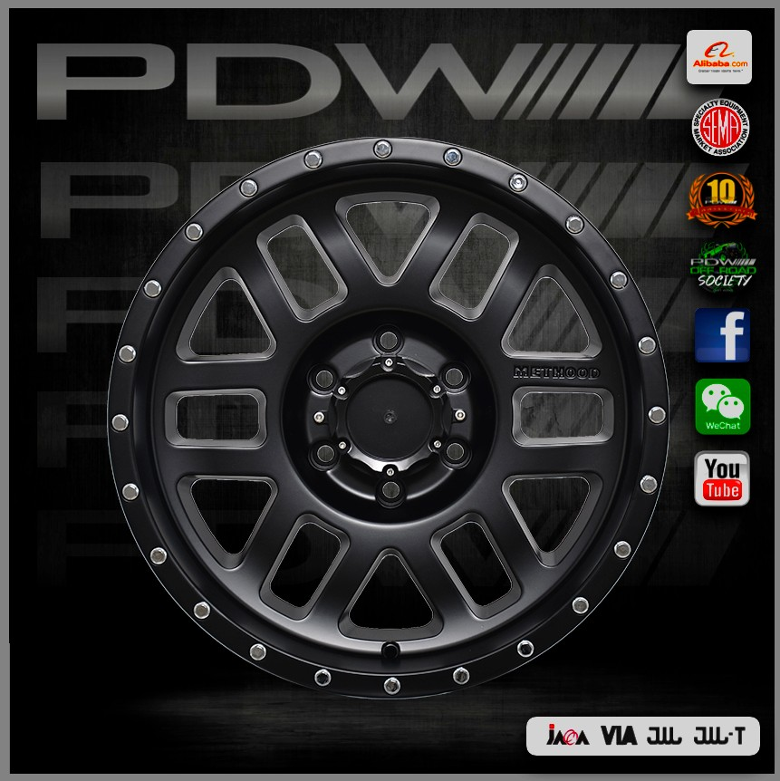 PDW brand replica napre japan rims, Zhejiang alloy wheels factory since 1983