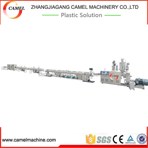 Full automatic plastic PVC pipe production line