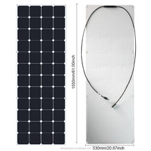 100w flexible solar panel for marine boat yacht
