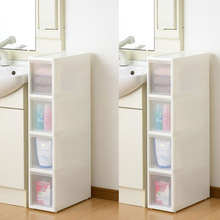 New design fashion folding cabinet storage box baby stackable clothing storage plastic drawers