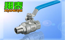 Stainless Steel Screw end 2PC Ball Valve, Male female Thread, SS316