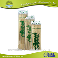 2014 HOT SELLING marshmallow bamboo sticks red bead/pearls decorating bamboo fruit stick for party