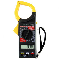 Popular DT266 digital clamp meter middle size jaw meter