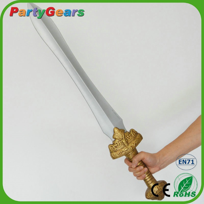 Dongguan Toys Manufacture Larp Flexible Safety PU Foam Medieval Sword