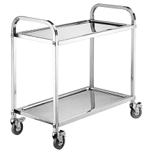 Stainless Steel Liquor Bar Service Trolley/ Wine Cart