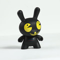 Low price make custom vinyl toy for kid/custom kidrobot art toy vinyl toy/customing black urban dunny vinyl toys