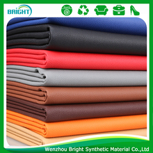 pvc leather, breathable Synthetic Leather pvc leather for sofa, Litchi Stria leather for sofa