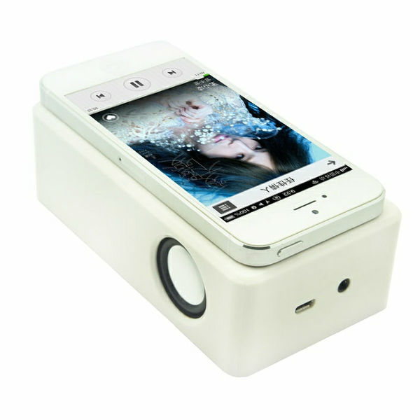 Denko Both Rechargeable battery and AA Battery Power supply Magical Mobile wireless speaker MP-08 for IPHONE, Samsung phone