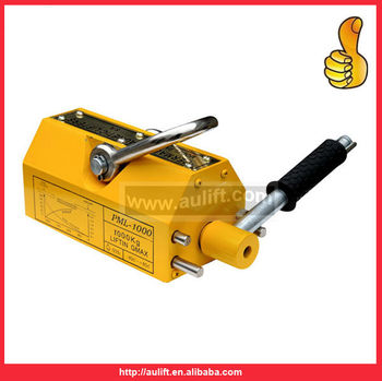 Heavy Duty 1320 lb Steel Lifting Magnet 600 KG Permanent Magnetic Lifter