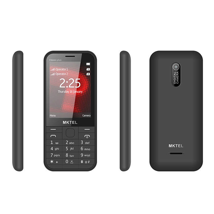 2.8 Mobile Phone Copy 225 Dual SIM Cheap Bar Phone Whatsapp Support