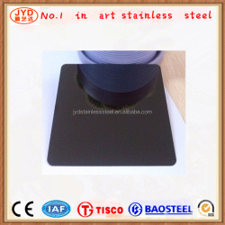 ASTM,JIS,GB,DIN,AISI Standard Elevator Cabin in black mirror surface stainless steel plate