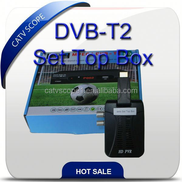 Mini HD/SD DVB-T2 Set Top Box /Digital TV Receiver(without CA)