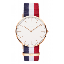 Best Selling Quartz Watch 1-Classic Nylon Gold, Factory Since 2002, OEM/ODM Welcome,