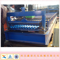 hebei xinnuo product Russia type c21 rib ag panel roll forming machines