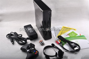 250 GB/4GB video game consoles for xbox360