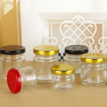 New Design Cylinder bird nest bottle glass jam jar food storage preserve glass jar