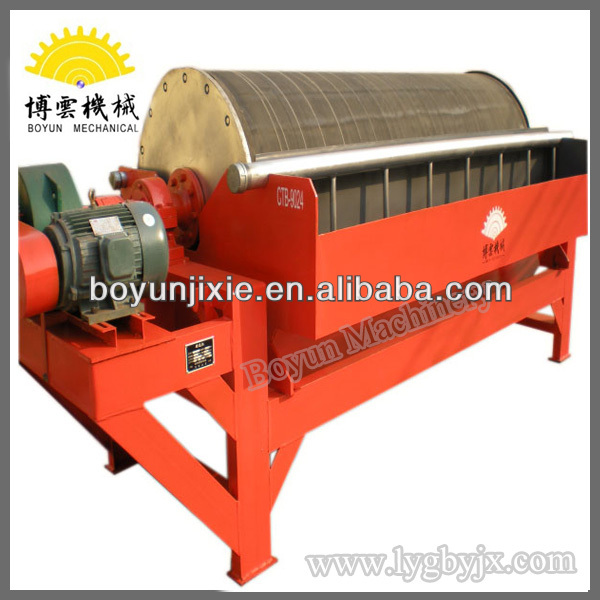 Wet drum permanent ISO quality approved magnetic separator
