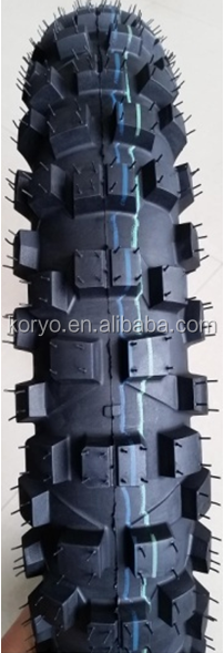 high quality cheap off road motorcycle tubeless tire 110/100-18
