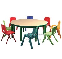 Kaplan Child Care Furniture,Children Library Furniture,Preschool Table and Chair