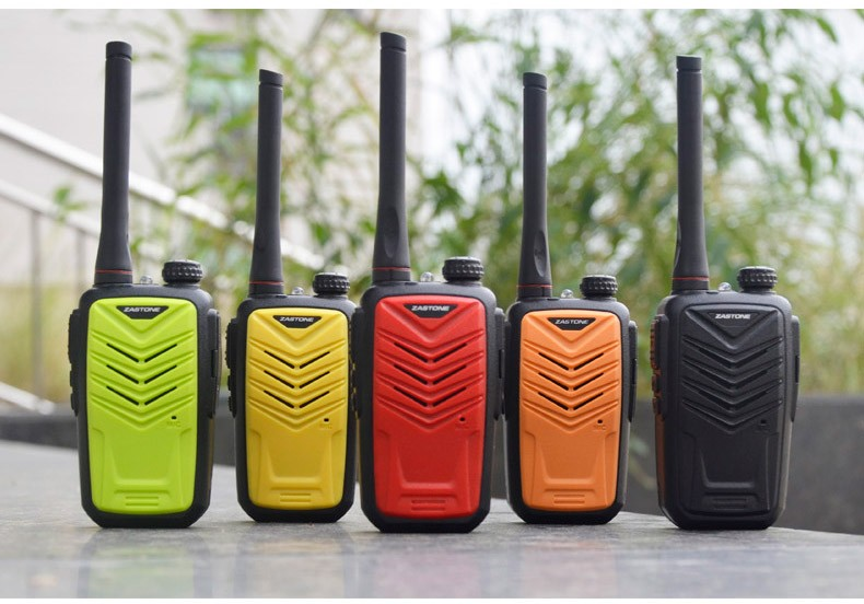 New launch 5W output power radio ZASTONE MINI 8 with UHF400-470MHz MINI handheld two way radio