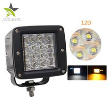 Strobe 6500k 72w Motorcycle 4inch Led Work Light