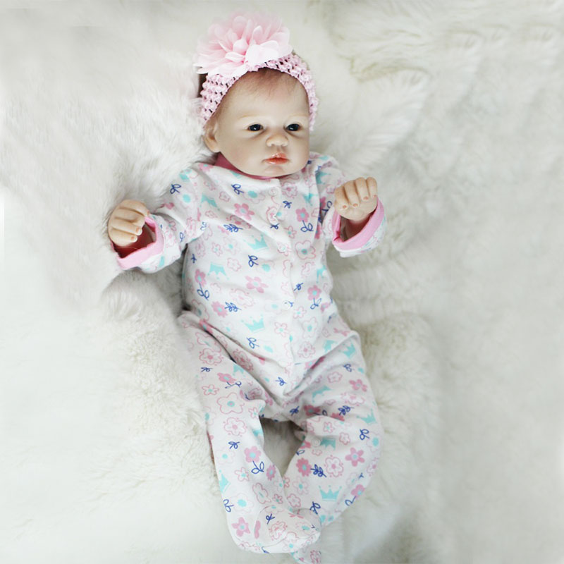 High quality kids soft vinyl silicone 22 inch realistic reborn baby <strong>doll</strong>