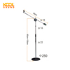 MS-14S Iron base Microphone Stand Chrome