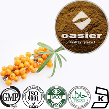 10% 20% Flavone 20% Isorhamnetin Holy Thorn Extract, Sea Buckthorn Extract with ISO Kosher Certificate