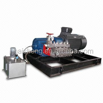 24h working high pressure water pump with force lubrication system