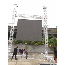 P6 outdoor led video wall for news display stage rental led die casting display