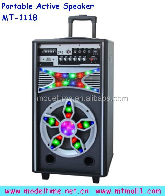 Portable Trolley Active Speaker with 7A Rechargeable battery