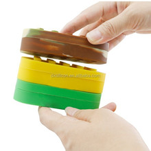 silicone customized bho oil container,silicone containers small