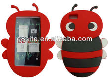 3D Bumble Bee Silicone Case For BlackBerry Z10 Dev Alpha B