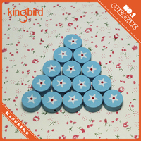 China DIY 5mm thickness wholesale wooden crochet beads