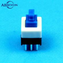 Low price SMD 12 volt 6*6*3.1mm flat plunger type Tactile switch with 5pin, ground terminal, ROHS compliaince