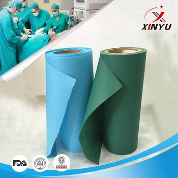 pe film lamiated non woven fabric