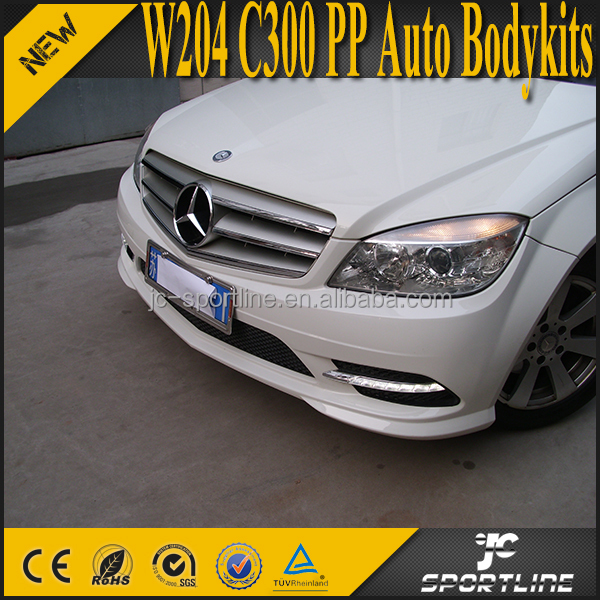 W204 C300 PP Car Full Bodykits for Mercedes Ben z W204 C300 05-12
