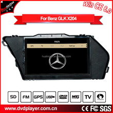 Win CE6.0 gps radio <strong>dvd</strong> 1din for Benz GLK X204 digital TV bluetooth phone DVR TF card USB port HD touch navigation