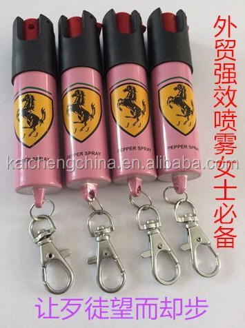 Recommend China Top ten hot peppers wholesale ,self defense pepper spray with keychain