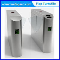 Security Passage Speed Gate Flap Turnstile/Swing gate for access control system