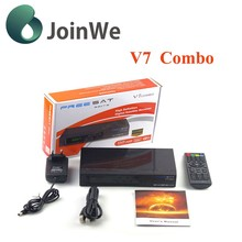 Best Item Freesat V7 hd Combo DVB-S2 / T2 MPEG4 Full 1080P HD Satellite Receiver Decoder Freesat V7 Combo