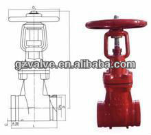 Cast iron rising stem gate valve with prices