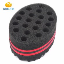 Hot selling Soft Foam Roller Magic Hair Twist Sponge/afro coil wave dreads sponge brush