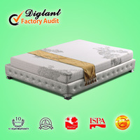 coconut coir iron bed frame removable hotel mattress sets