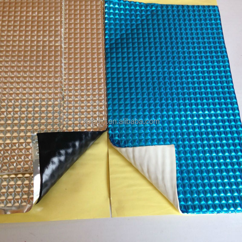 Strong self adhesive materials for Car sound insulation