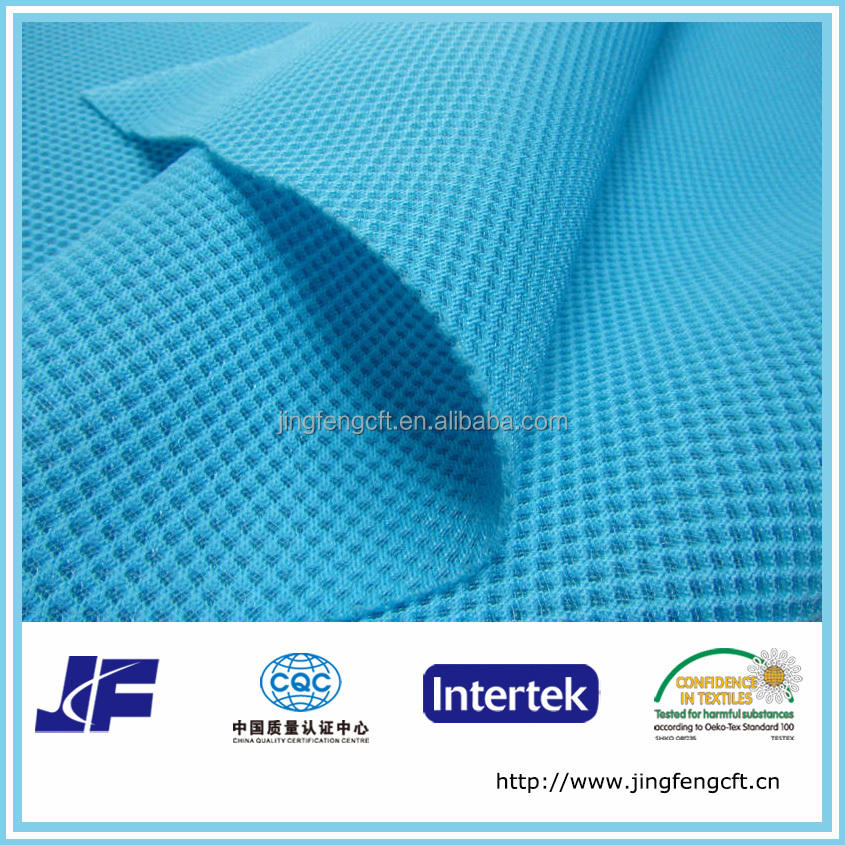 diamond geo polyester mesh fabric
