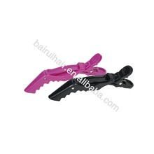 Wholesale professional salon plastic alligator clamp shark hair clip