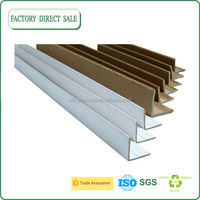 Recycle packaging corrugated edge protectors,L Shape Edge Protector,Kraft Brown Cardboard